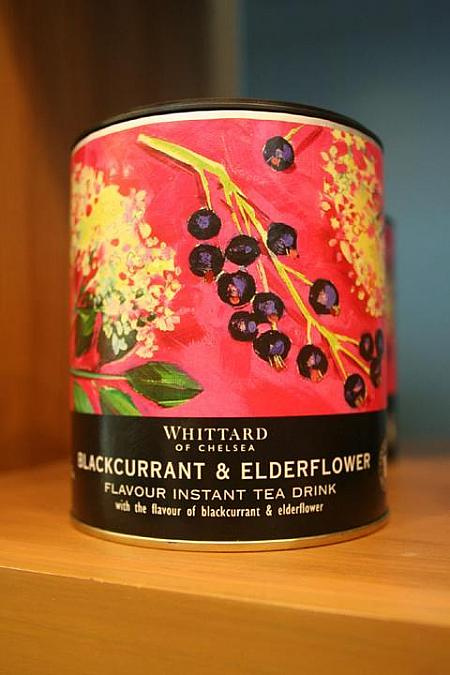インスタントティー(500g;680B)Blackcurrant & elderflowers