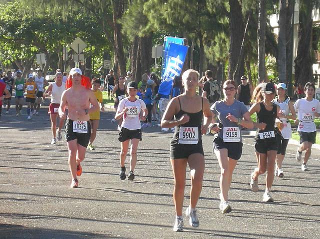 ハワイ ホノルル マラソン