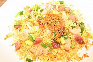 Fried rice with conpoy