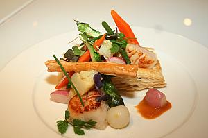 「Scallop Vol au Vent」