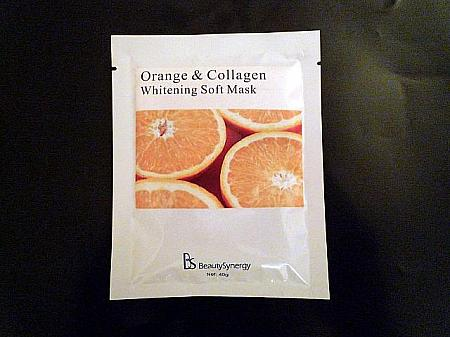 第8位 Beauty Synergy Orange & Collagen Whitening Soft Mask HK$12