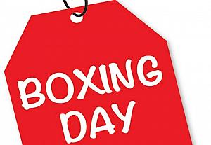 ◆Boxing Day ボクシング・デー◆