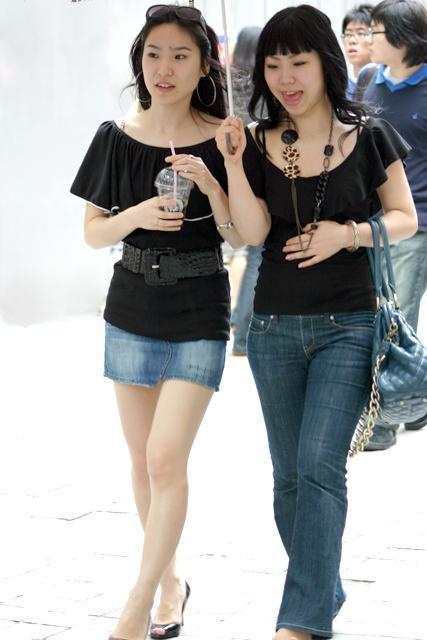 写真で見る2007年5月の明洞ファッション! | ソウルナビ