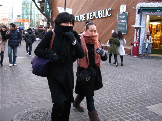 ソウルの冬の防寒度チェック ソウルナビ