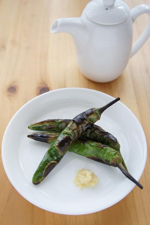 食べ 方 唐辛子 青