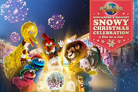 12/1-1/4 「Singapore's Biggest Snowy Christmas Celebration」開催