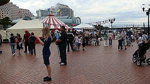 Darling Harbour Hoopla Festival へ行ってきました!
