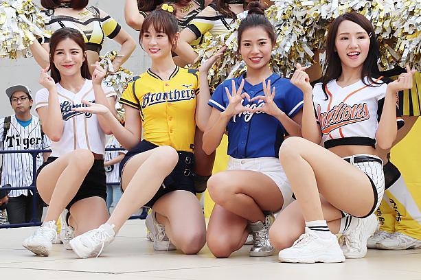 野球 台湾 チア プロ