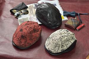 Majorlin Leather Hats