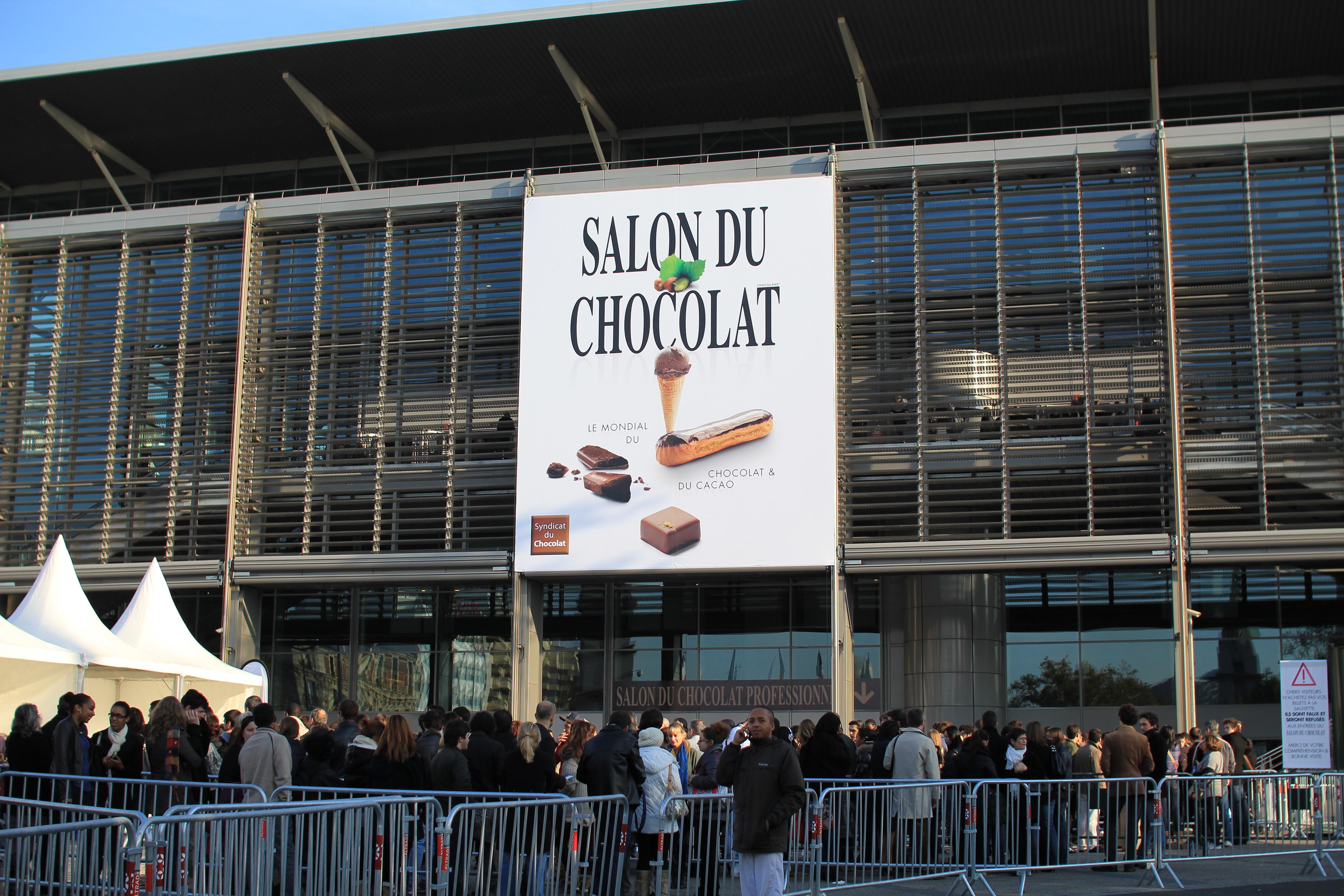 ショコラでパリ中が沸き返る!サロン・デュ・ショコラ2011 | パリナビ